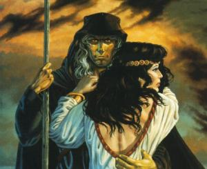 DragonLance - Raistlin & Crysania